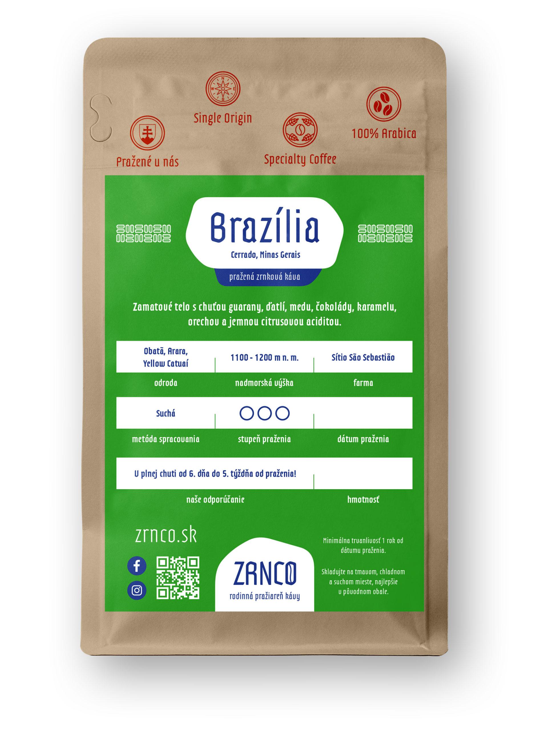 Brazília | ZRNCO rodinná pražiareň kávy